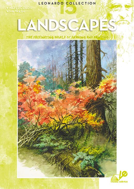 Litteratur Leonardo Bok - nr 15 Landscapes