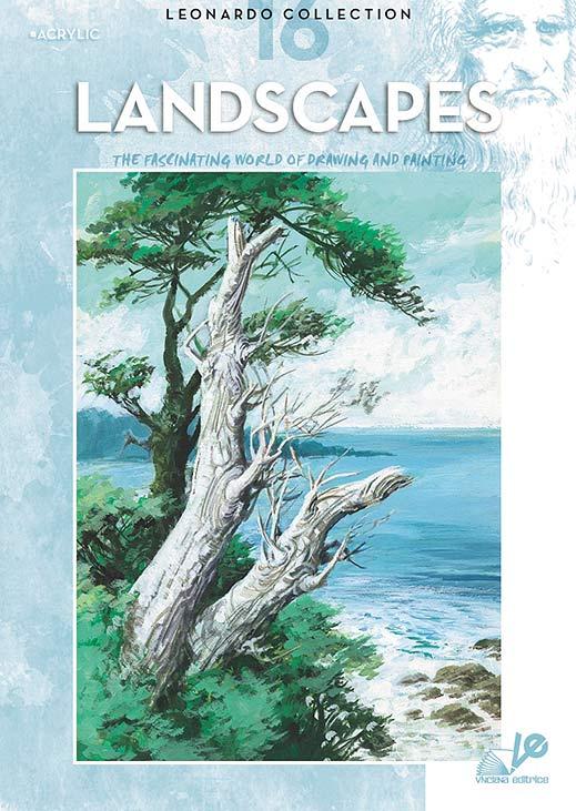 Litteratur Leonardo Bok - nr 16 Landscapes