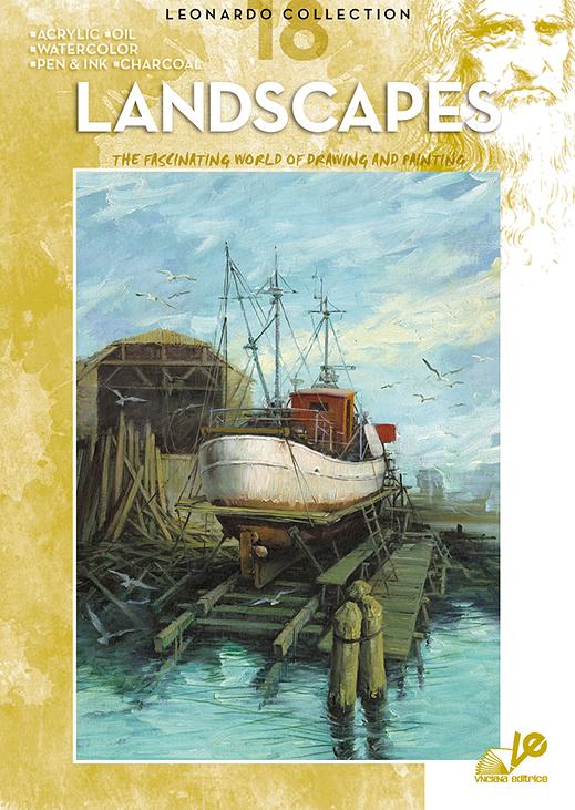 Litteratur Leonardo Bok - nr 18 Landscapes
