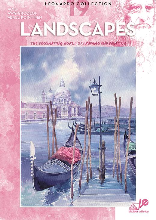 Litteratur Leonardo Bok - nr 19 Landscapes