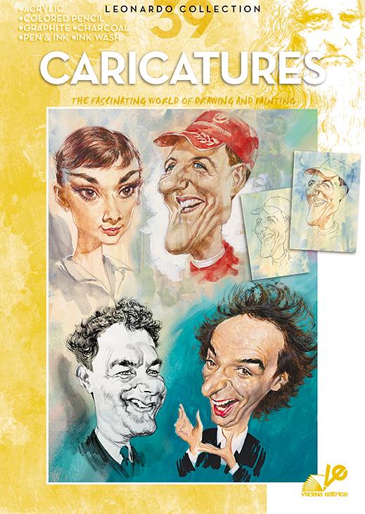 Litteratur Leonardo Bok - nr 39 Caricatures