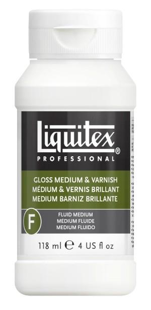 Fernissa/Medium Liquitex Gloss medium & varnish 118 ml
