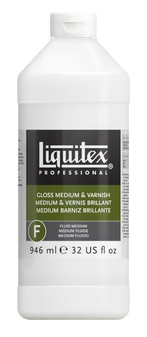 Fernissa/Medium Liquitex Gloss medium & varnish 946 ml