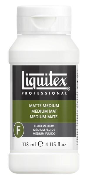 Akrylmedium Liquitex Matt medium 118 ml