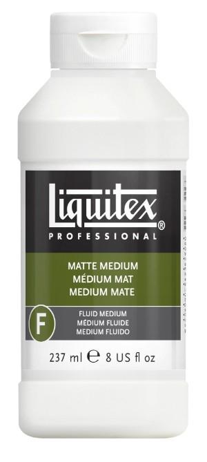 Akrylmedium Liquitex Matt medium 237 ml
