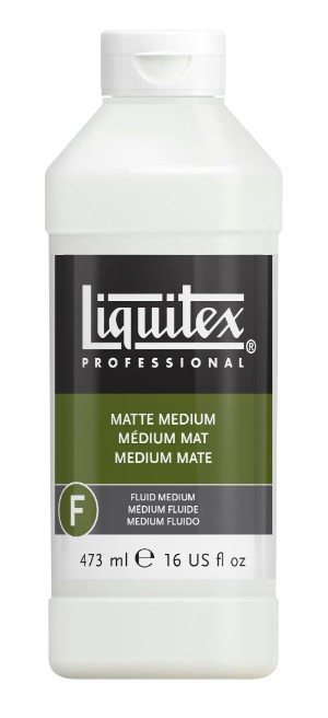 Akrylmedium Liquitex Matt medium 473 ml