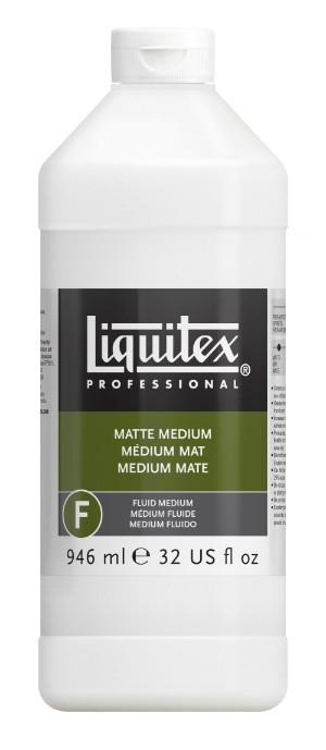 Akrylmedium Liquitex Matt medium 946 ml