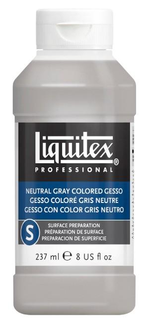 Akrylmedium Liquitex Colored Gesso Grey 237 ml
