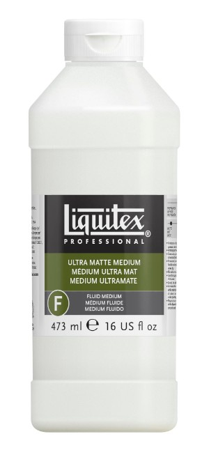 Akrylmedium Liquitex Ultra matte medium 473 ml