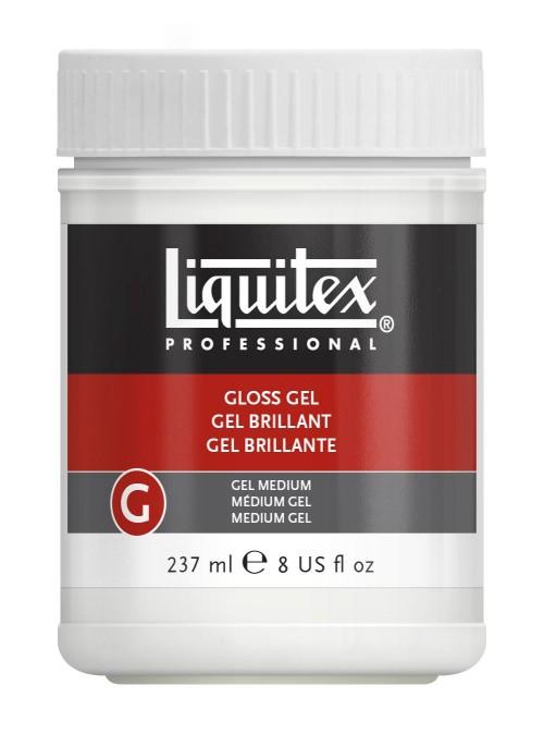 Akrylmedium Liquitex Gloss gel medium 237 ml