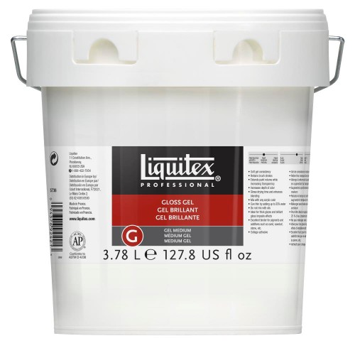 Akrylmedium Liquitex Gloss gel medium 3.78 liter