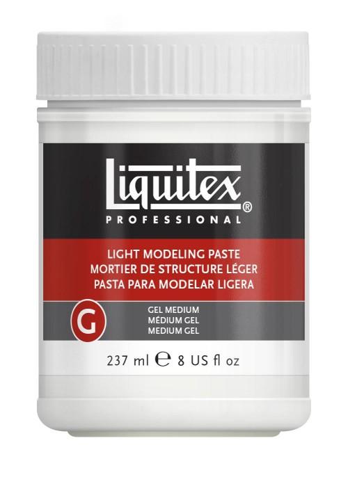 Akrylmedium Liquitex Light modeling paste 237 ml