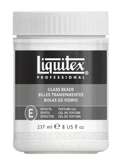 Akrylmedium Liquitex Effekt Glass beads 237 ml