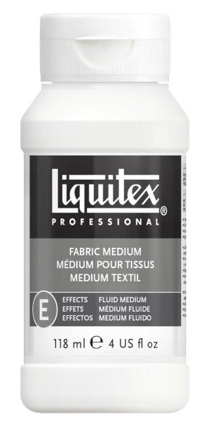 Akrylmedium Liquitex Effekt Fabric medium 118 ml
