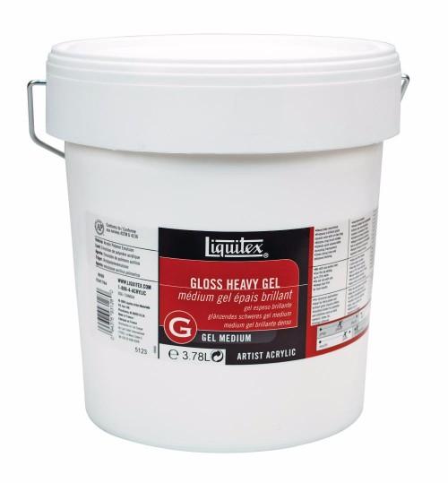 Akrylmedium Liquitex Gloss heavy gel 3,78 litre