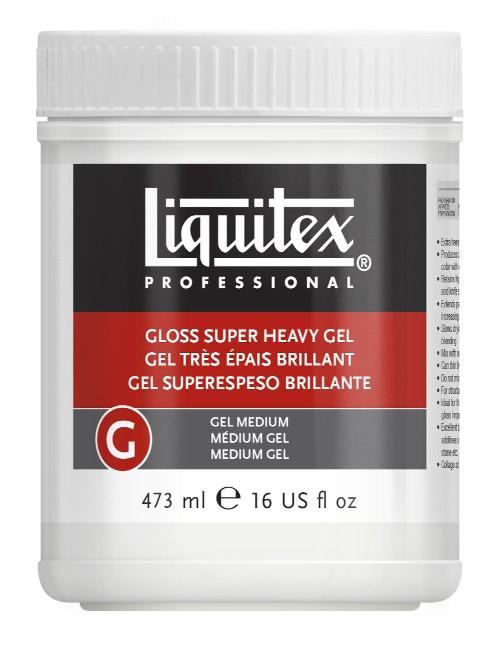 Akrylmedium Liquitex Gloss Super Heavy Gel Medium 473 ml