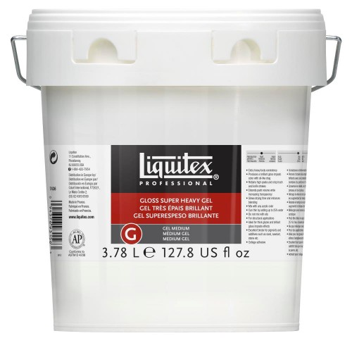 Akrylmedium Liquitex Gloss Super Heavy Gel Medium 3,78 l