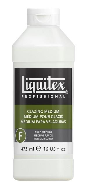 Akrylmedium Liquitex Glazing medium 473 ml