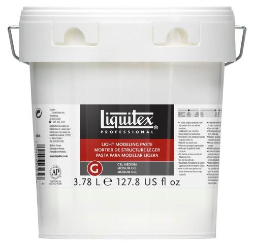 Akrylmedium Liquitex Light modeling paste 3,78 l