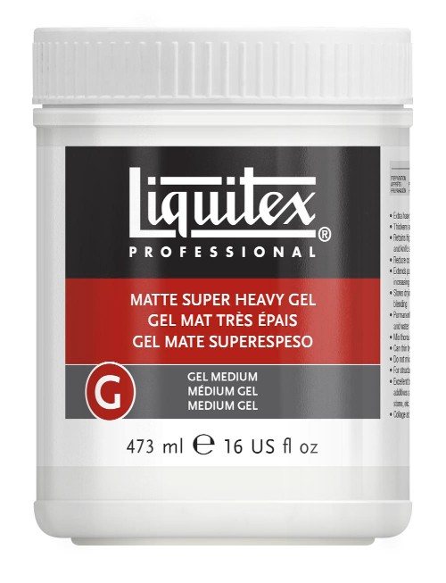 Akrylmedium Liquitex Matte Super Heavy Gel 473 ml
