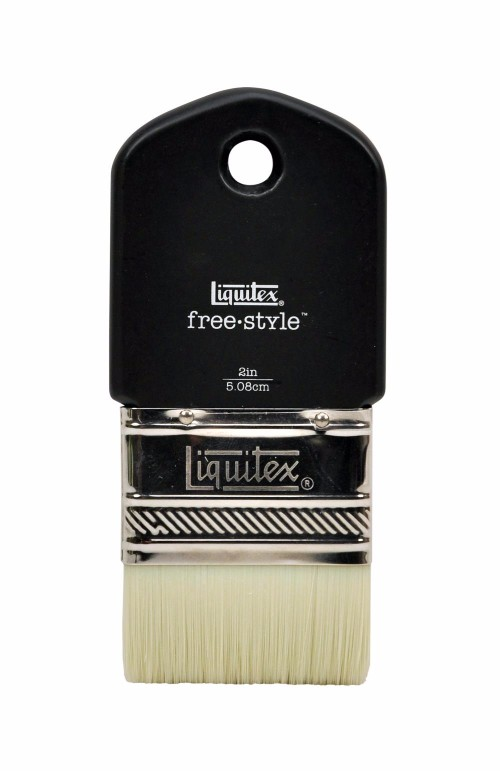 Syntetpensel Liquitex Freestyle Paddle Brush St 2
