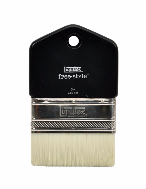 Syntetpensel Liquitex Freestyle Paddle Brush St 3