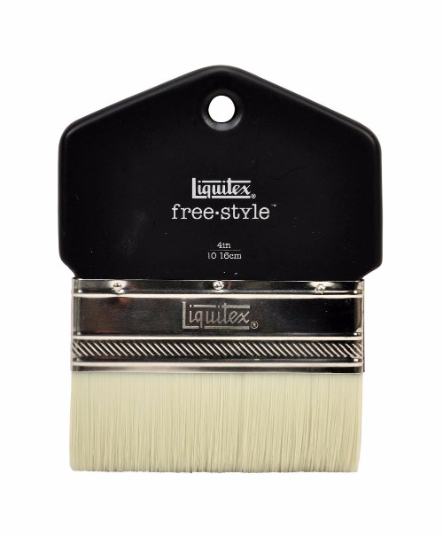 Syntetpensel Liquitex Freestyle Paddle Brush St 4