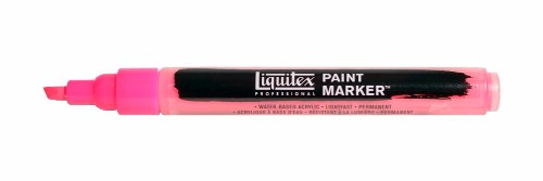 Akrylmarker Liquitex Fine 2mm  Fluorescent Pink 0987 (3F)