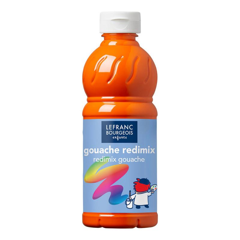 Skolfärg Redimix L&B 500ml Klarorange - orange 201 (10F)