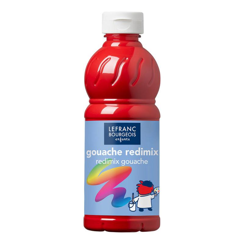 Skolfärg Redimix L&B 500ml Klarröd - brilliant red (carmine) 327 (10F)