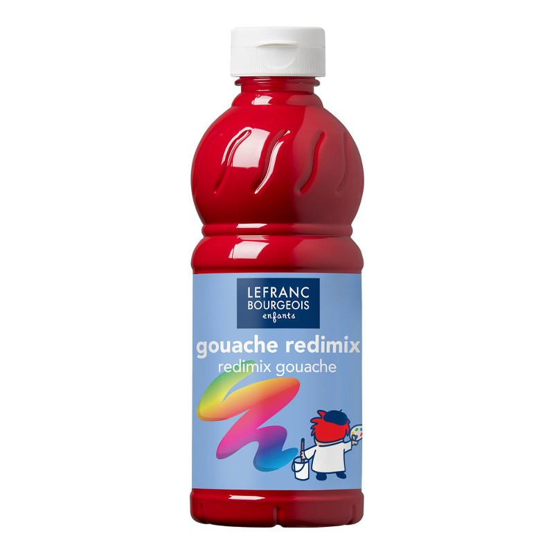 Skolfärg Redimix L&B 500ml Primärröd - primary red 437 (10F)