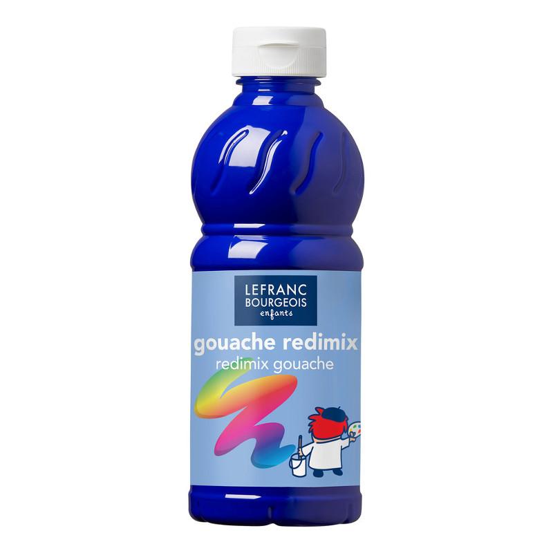 Skolfärg Redimix L&B 500ml Klarblå - brilliant blue (ultramarine) 054 (10F)