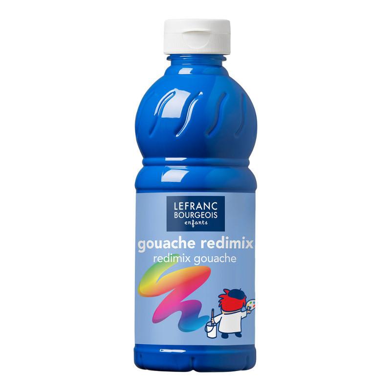 Skolfärg Redimix L&B 500ml Cyanblå - primary blue (cyan) 063 (10F)