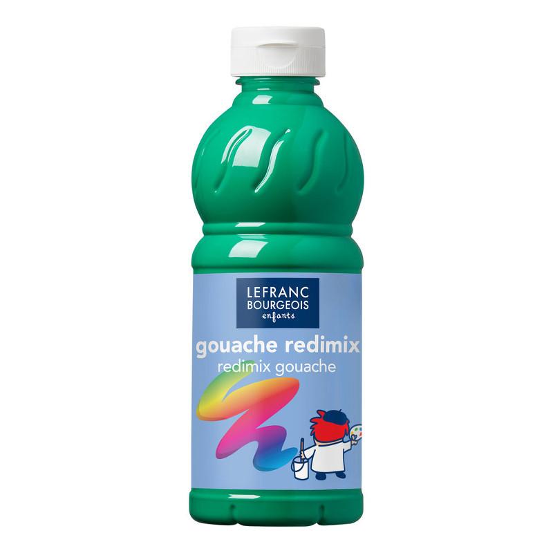 Skolfärg Redimix L&B 500ml Klargrön - brilliant green 563 (10F)