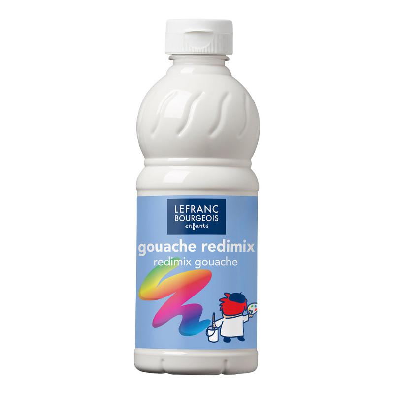 Skolfärg Redimix L&B 500ml Vit - white 001 (10F)