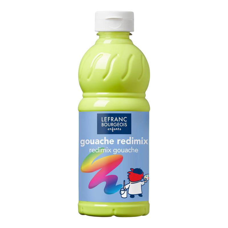 Skolfärg Redimix L&B 500ml Fluoriserande gul 163 (10F)