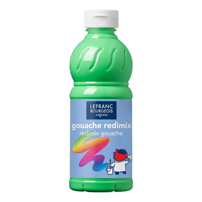Skolfärg Redimix L&B 500ml Fluoriserande grön 565 (10F)