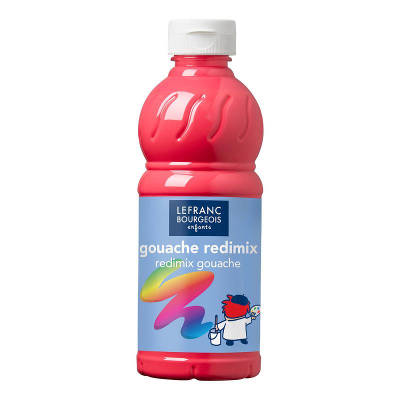 Skolfärg Redimix L&B 500ml Fluoriserande rosa 408 (10F)