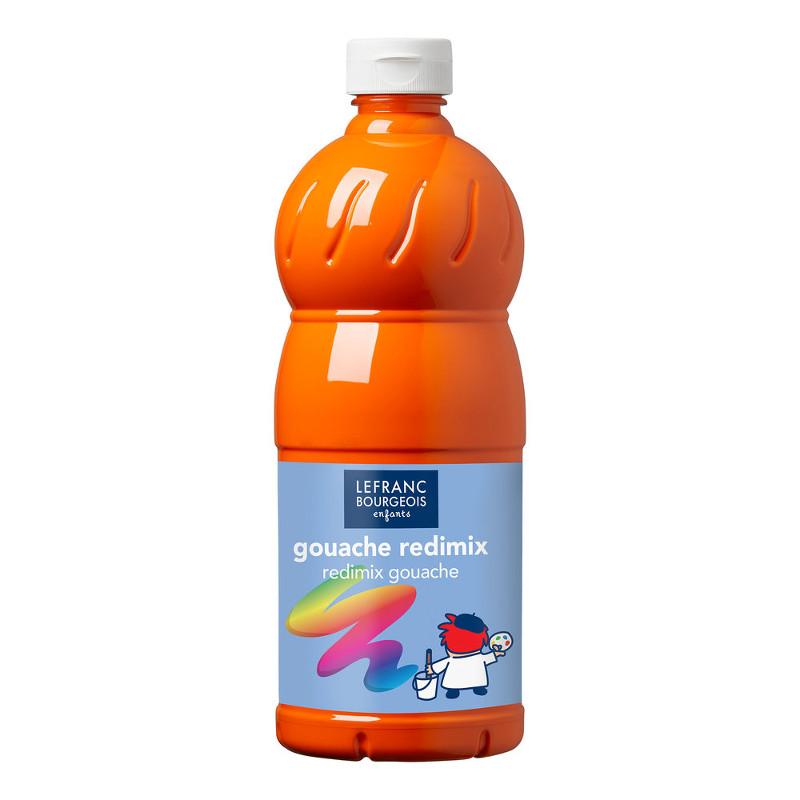 Skolfärg L&B Redimix 1 L 201 Klarorange - orange