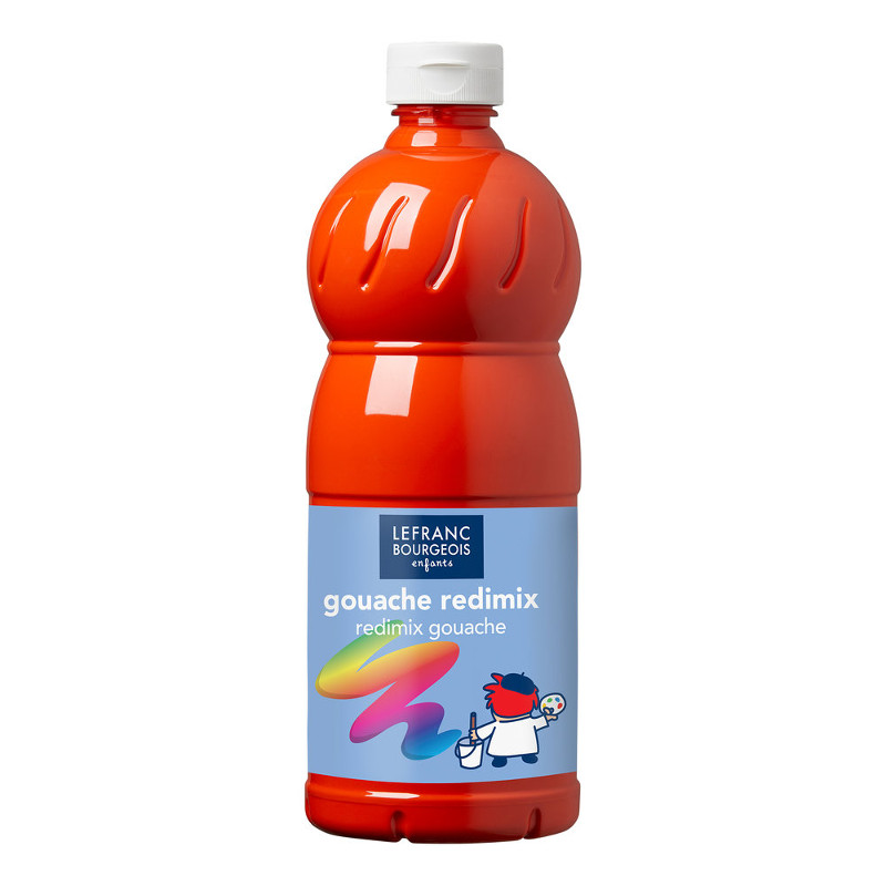 Skolfärg L&B Redimix 1 L 398 Vermillion - vermilion