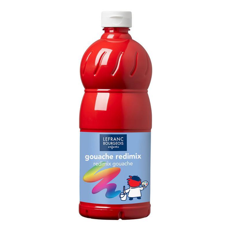 Skolfärg L&B Redimix 1 L 327 Klarröd - brilliant red (carmine)