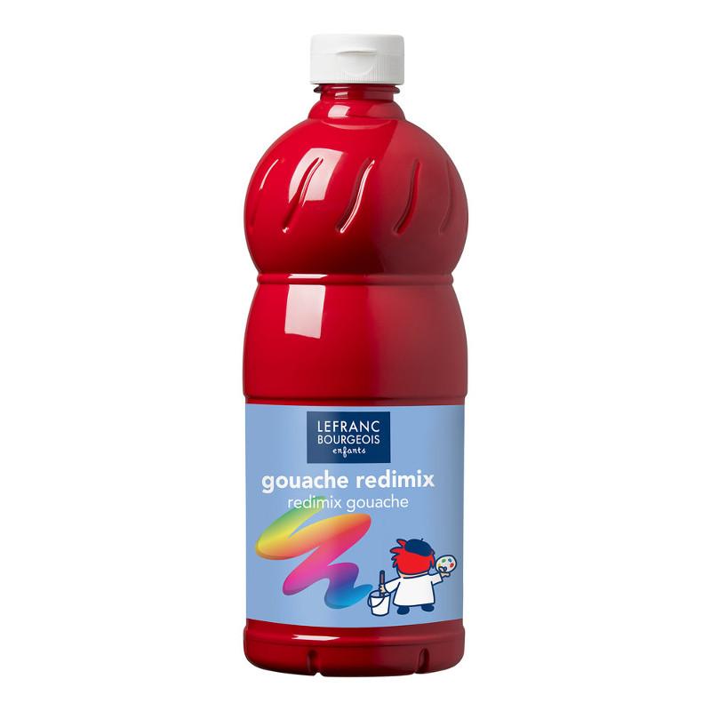 Skolfärg L&B Redimix 1 L 437 Primärröd - primary red