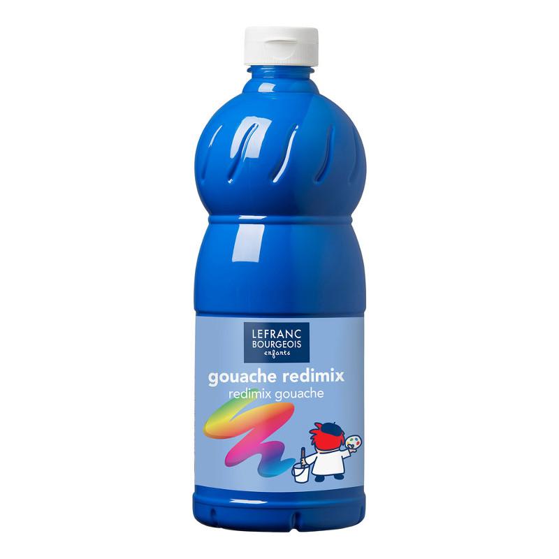 Skolfärg L&B Redimix 1 L 063 Cyanblå - primary blue (cyan)