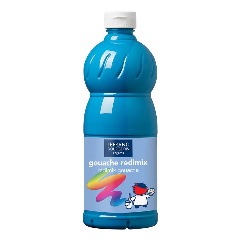 Skolfärg L&B Redimix 1 L 050 Turkosblå - turquoise blue