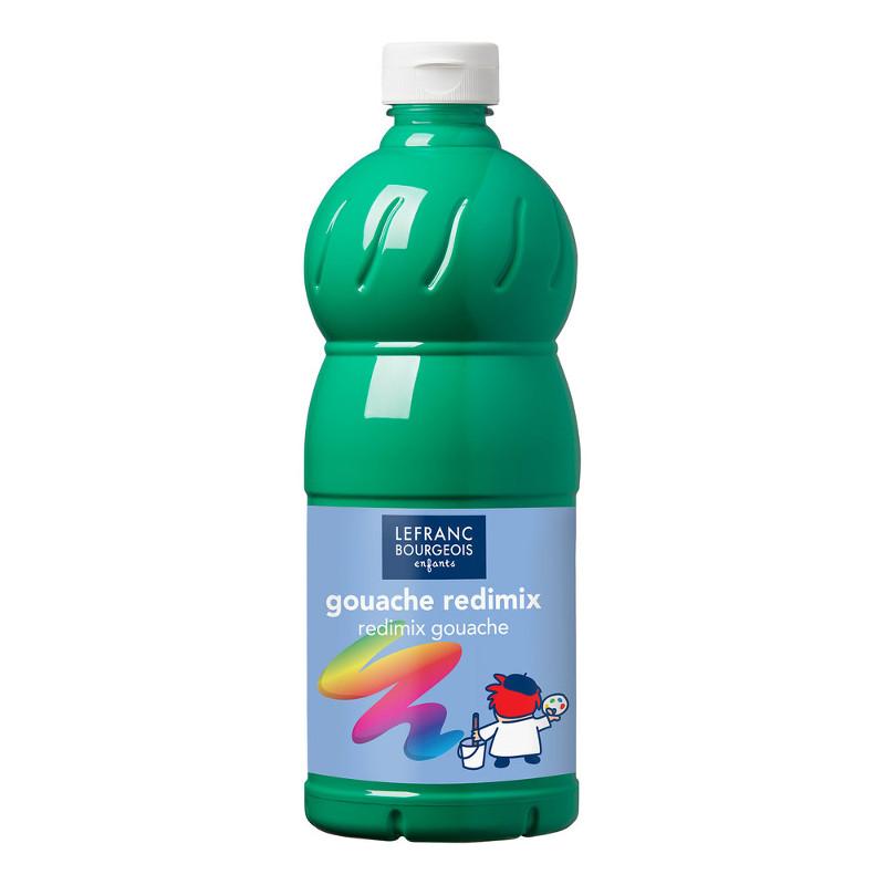 Skolfärg L&B Redimix 1 L 563 Klargrön - brilliant green