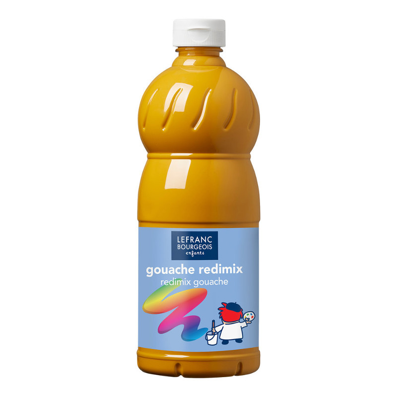 Skolfärg L&B Redimix 1 L 302 Ljusockra - yellow ochre