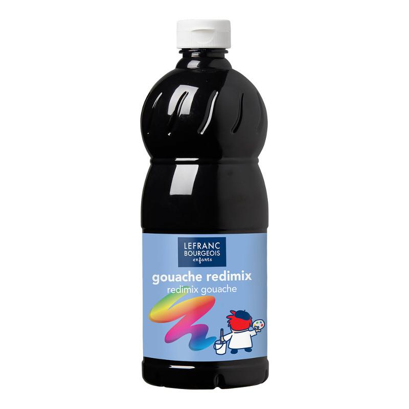 Skolfärg L&B Redimix 1 L 265 Svart - black