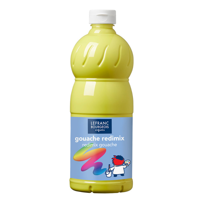 Skolfärg L&B Redimix 1 L 169 Citrongul - lemon yellow