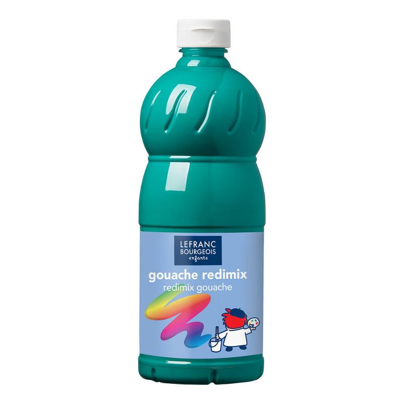 Skolfärg L&B Redimix 1 L 529 Smaragdgrön - emerald green