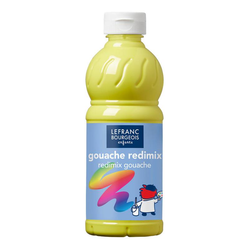 Skolfärg Redimix L&B 500ml Citrongul - lemon yellow 169 (10F)